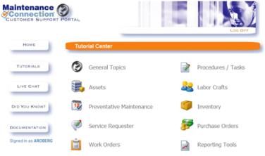 Customer Service Portal | The Maintenance Connection Blog